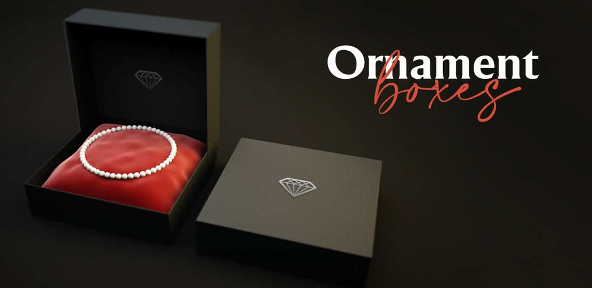 Right Ornament Boxes for Jewelry Items