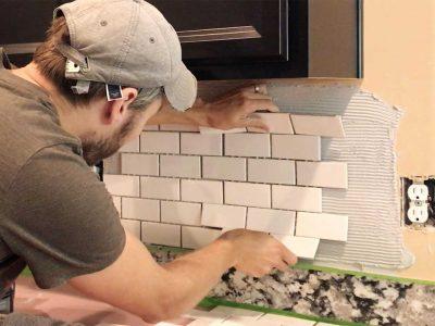 Installing-Subway-Tiles