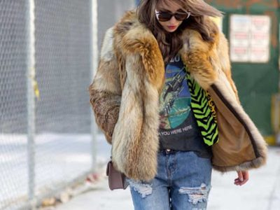 How to Wear Your Faux Fur Coat