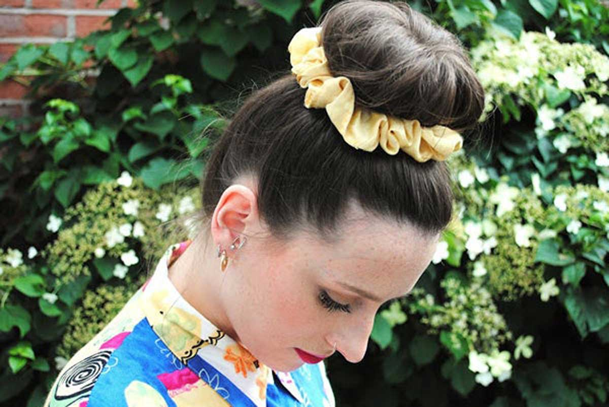 scrunchies in your everyday hairstyles