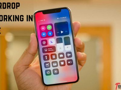 5 Simple Hacks to fix Airdrop not working in iPhone or iPad
