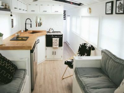 Converting a Bus to a Home