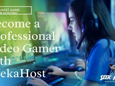 video gamer with seekahost