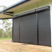 Business Safe with Roller Shutters