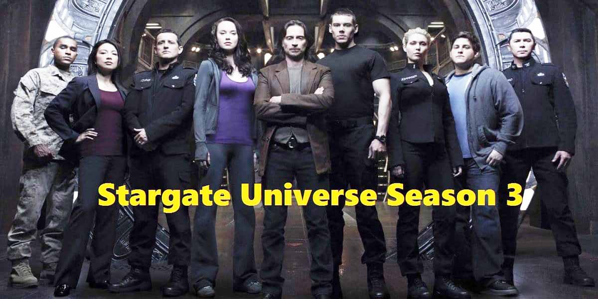 Stargate Universe Season 3 Release Date