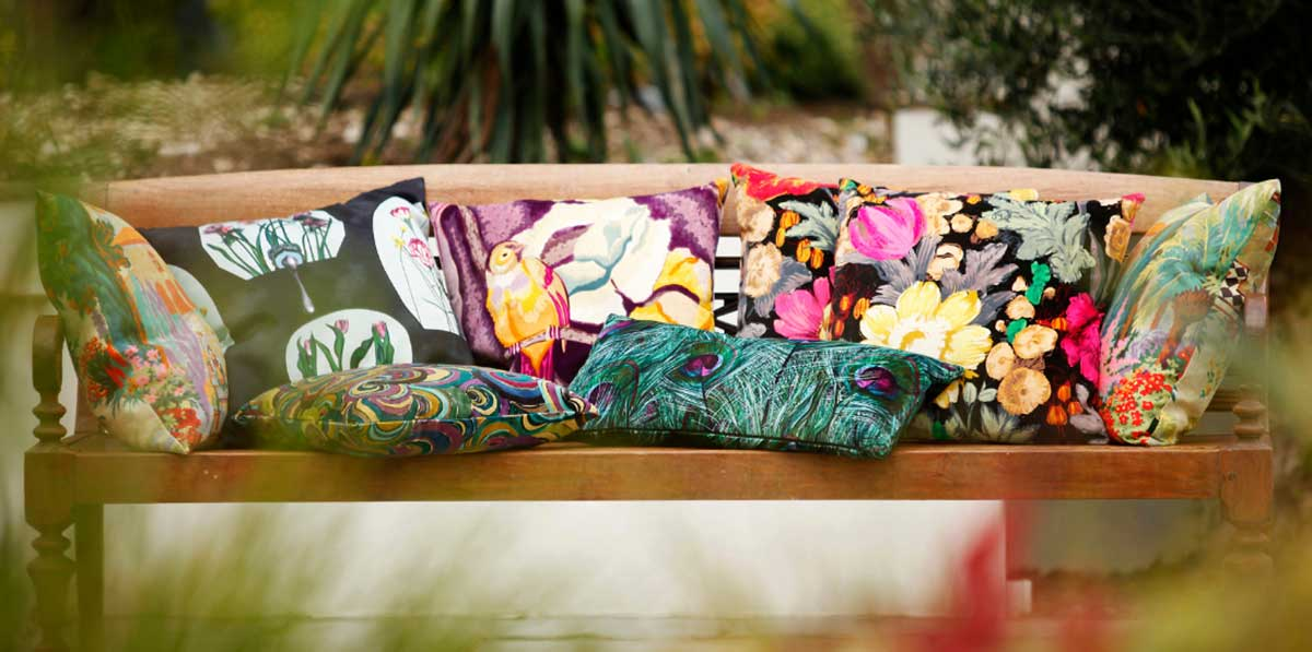 Add Color With Outdoor Cushions