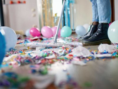 Cleaning your House After Hosting a Party